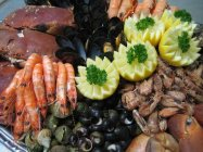 Plateau de fruits de mer (mollusques & crustacés)